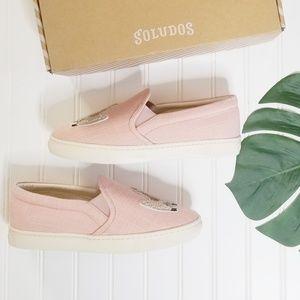 Soludos Shoes - NIB Soludos   Llama Slip On Pink Sneakers   9